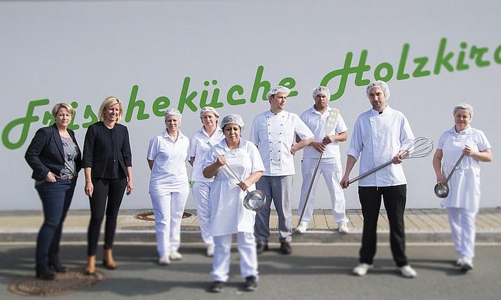 Das Team der Frischeküche