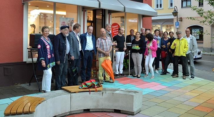 Einweihungsfeier am Oskar-von-Miller-Platz