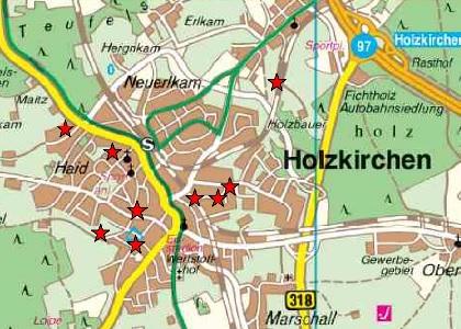 Mobilfunk-Standorte in Holzkirchen