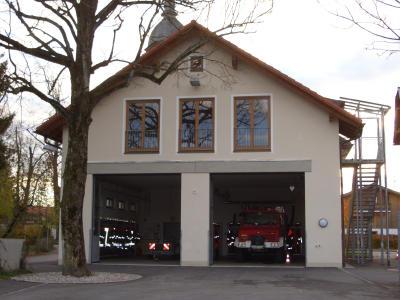 Das Feuerwehrhaus in Großhartpenning