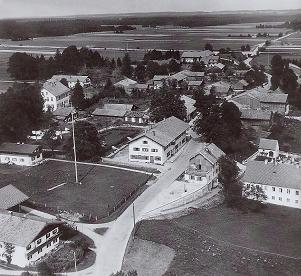 Foeching - Alte Ansicht vor ca. 60 Jahren