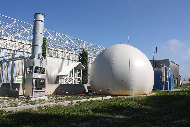 Bioabfallvergaerungsanlage