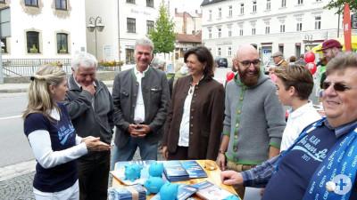 CSU Holzkirchen im Gespräch mit Bürgern