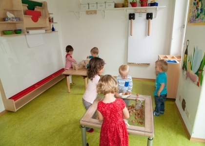 Kinder in Aktion