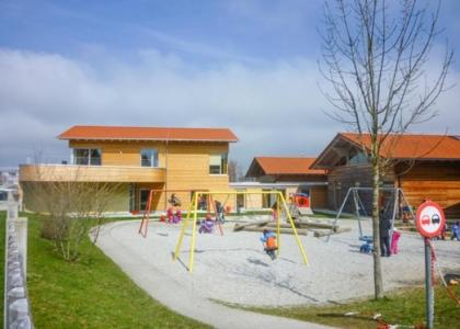 Frühlingsdorf Außengelände
