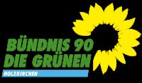 Logo von Bündnis 90/Die Grünen Holzkirchen mit Sonnenblume