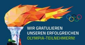 Einladung zum Empfang der Olympiateilnehmer