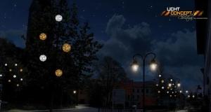 Winterbeleuchtung für Holzkirchen