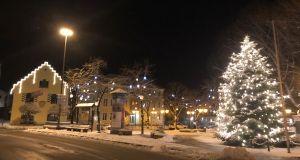 Marktplatz Holzkirchen Weihnachten