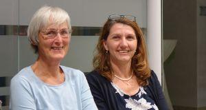 Die neuen Behindertenbeauftragten Frau Sokat und Frau Fischer