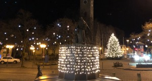 Winterbelechtung Marktplatz