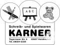 Schreib- und Spielwaren Karner Logo