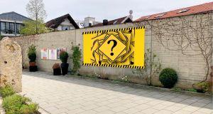 Kunst im öffentlichen Raum Wand vor dem Kultur