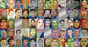 """Projekt """"57 und ich"""" von Sabine Kuehne"""