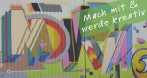 Grafitti mit Aufruf mitzumachen