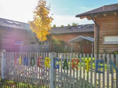 Kindergarten Frühlingsdorf - Ansicht vom Eingang