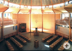 Segenskirche-Innenansicht