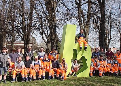 Die Mitarbeiter des Bauhofs