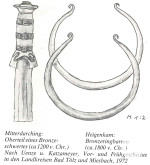 Bronzeringbarren /Bronzezeit círca 1800 vor Christus