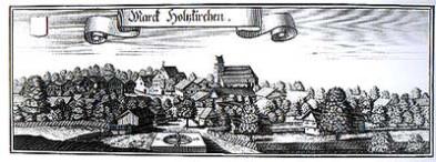 Stich von Michael Wening um 1700