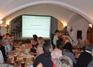 Zahlreiche Besucher bei der Informationsveranstaltung