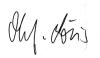 Unterschrift Olaf von Löwis