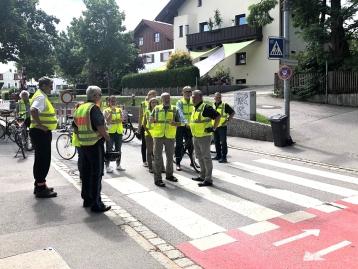 Vorbereisung der AGFK am 04.07.2018. Credit: Markt Holzkirchen