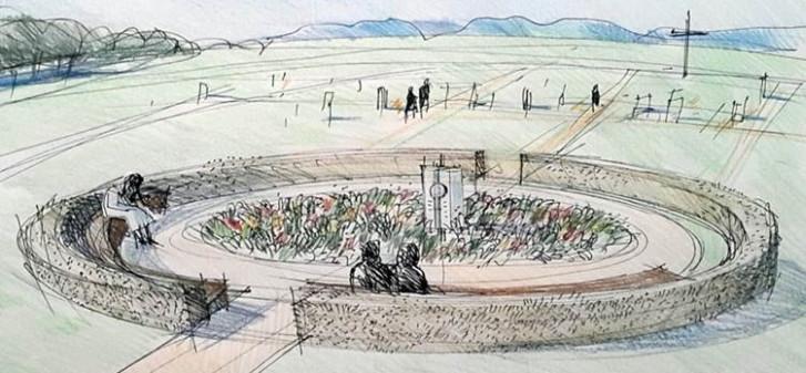 Erweiterung Friedhof. Credit: Architekturbüro Gaenßler