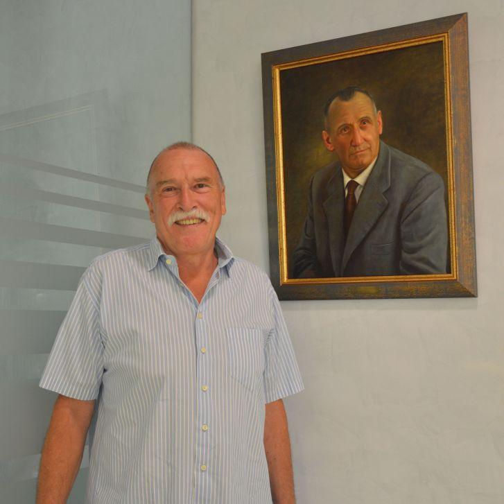 Franz Obermayr und Großvater