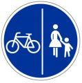 Rad-Gehweg