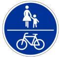 Geh-Radweg Schild