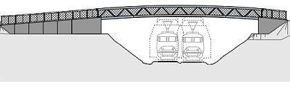Zeichnung Kindergartenbrücke