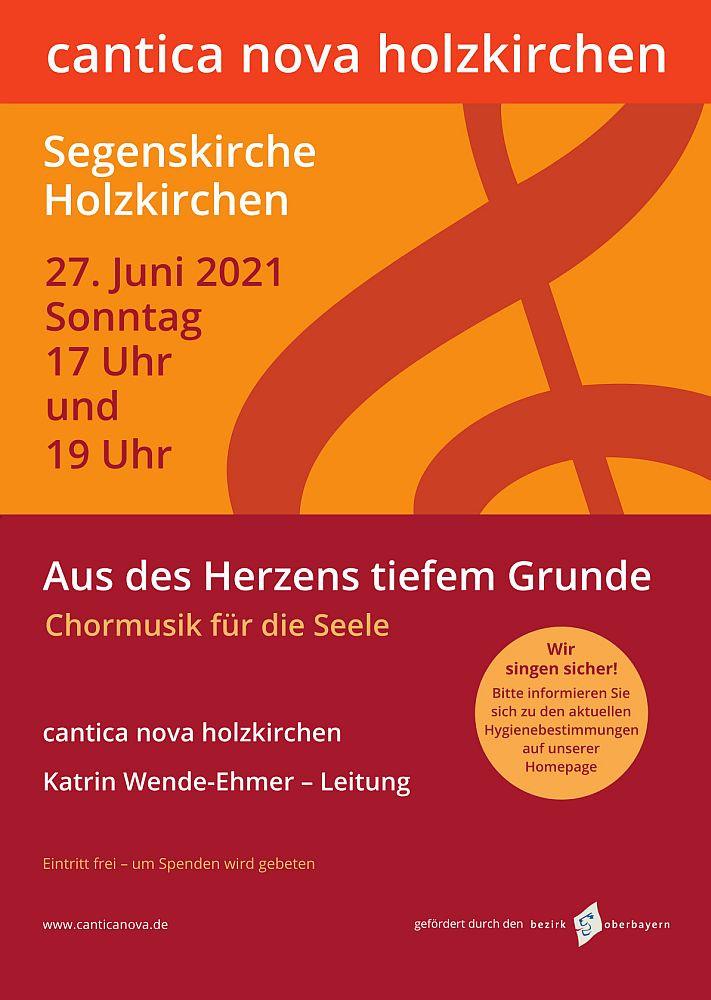 cantica nova holzkirchen - Konzert Juni 2021