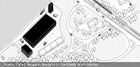 Neubau Bahof Planungsstand 2021