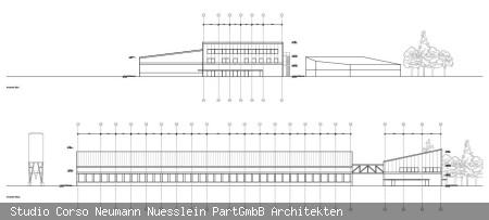Neubau Bauhof Planungsstand 2021